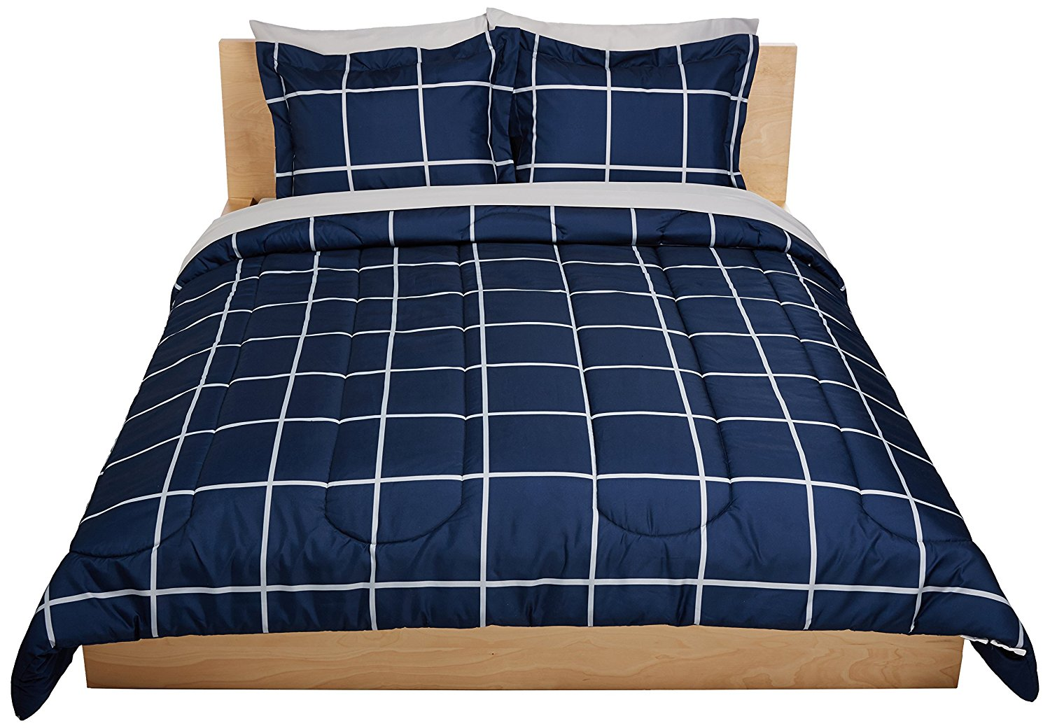 Ruvanti Basic Navy Blue Bed in a Bag